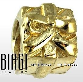 Carlo Biagi 10K Gold Beads