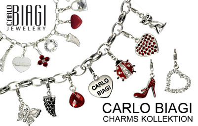 Carlo Biagi Charms