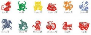 chinesische Sternzeichen Figuren