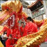 Chinesisches Neujahrsfest - Drachentanz