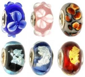 Murano Glasbeads für Carlo Biagi Stil Armbänder